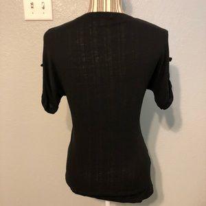 Lacoste Tops - Lacoste Black t-shirt